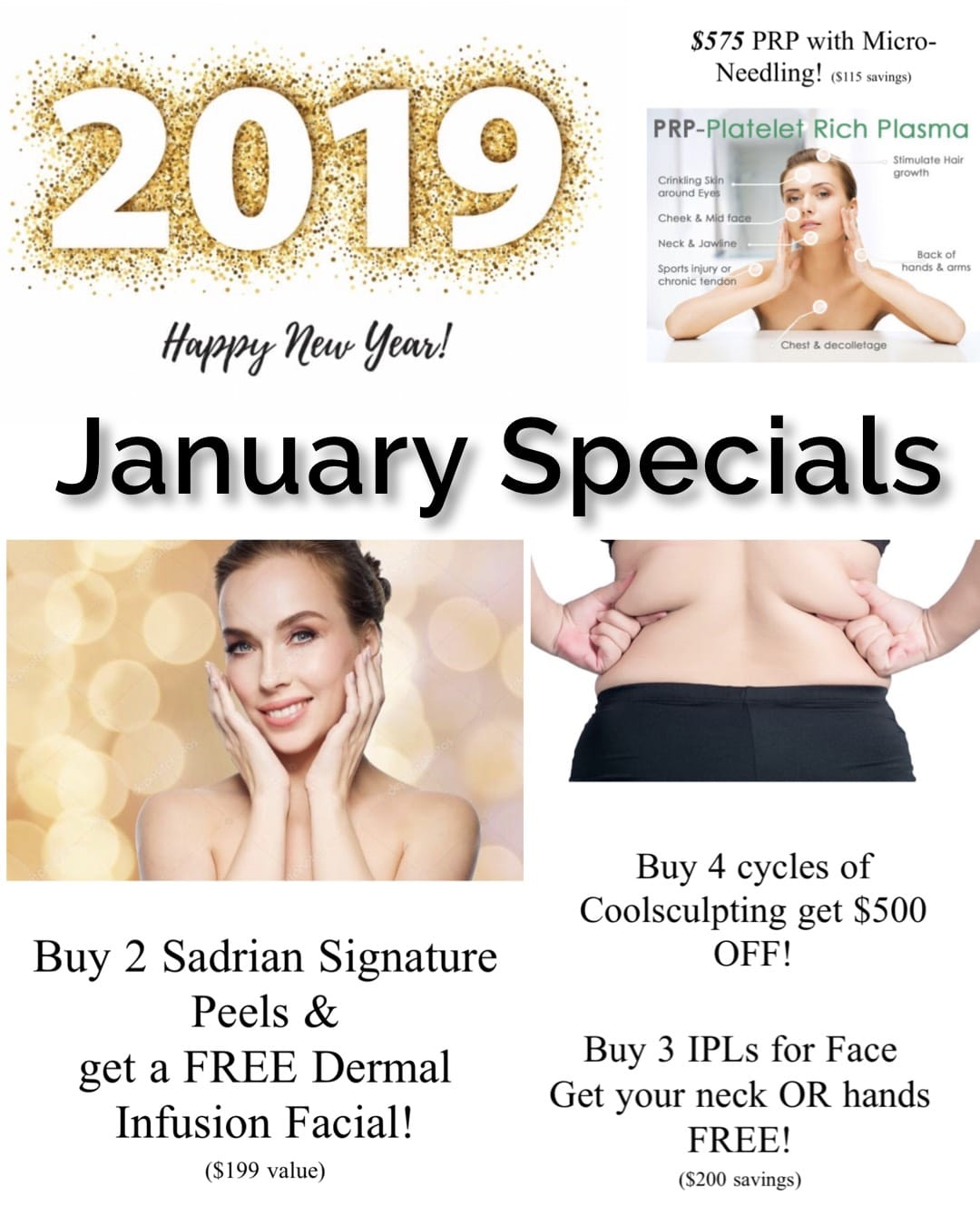Specials & Events, Sadrian Plastic Surgery
