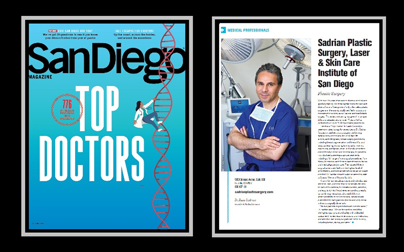 Dr. Sadrian featured in a magazine