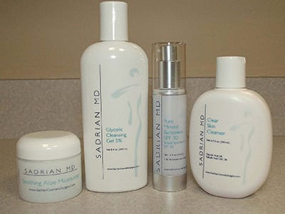 Skincare Products, Sadrian Plastic Surgery
